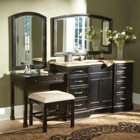 sink vanity with makeup table bathroom vanity with makeup table choice image bar
