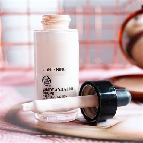 The Shop Shade Lightening Adjusting Drops 5ml Jar Bottle four seriously underrated products from the shop
