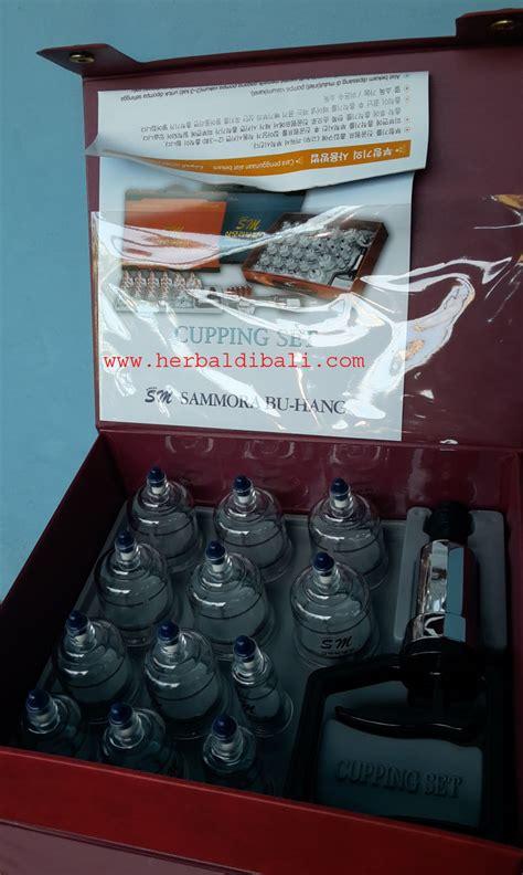 Jual Teh Ginseng Merah Korea jual alat bekam sammora korea 12 cup di denpasar bali