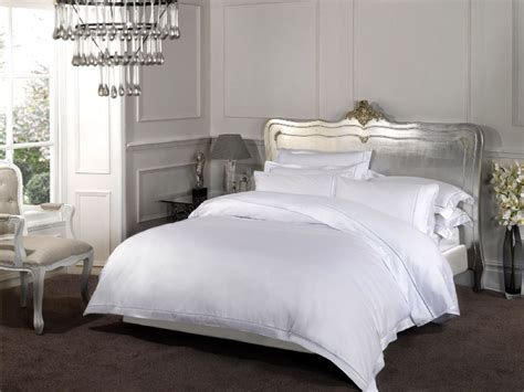 hotel quality bedding 1000 thread count white colour luxury rich egyptian cotton
