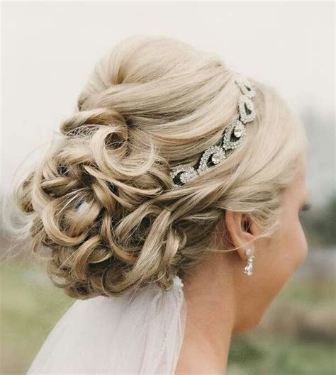 Wedding Hairstyles Updo With Headband by 21 Glamorous Wedding Updos For 2018 Pretty Designs