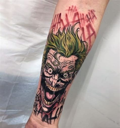 batman elbow tattoo joker tattoos for men ideas and inspiration for guys