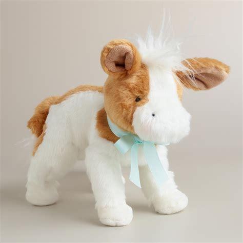 stuffed cow plush stuffed cow world market