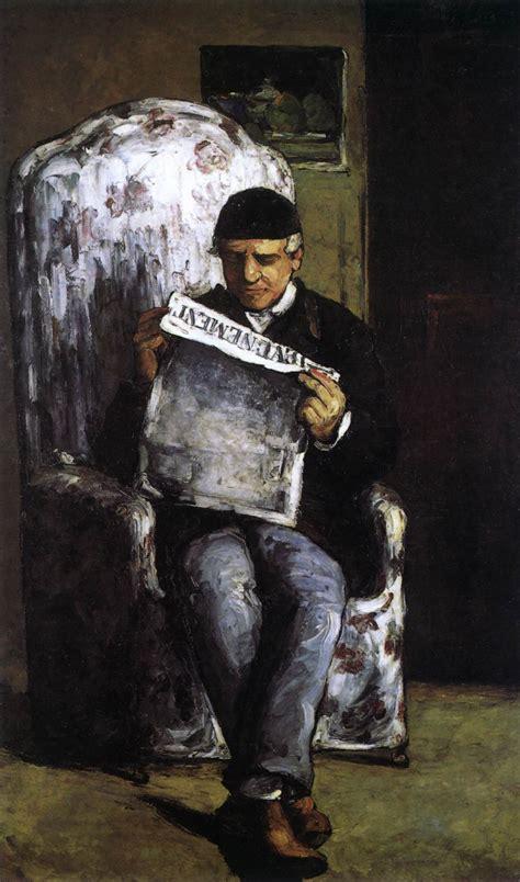 Reading L Louis Auguste Czanne The Artist S Reading The Quot L