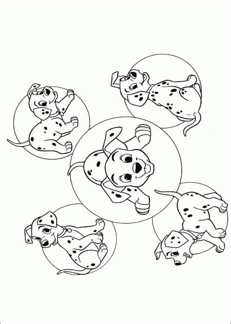 Coloring Pages 101 by 101 Dalmatians Coloring Pages Coloringpagesabc