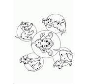 Mini 101 Dalmatians Coloring Pages Free Printable