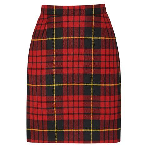 the pencil skirt not just stylish tartan