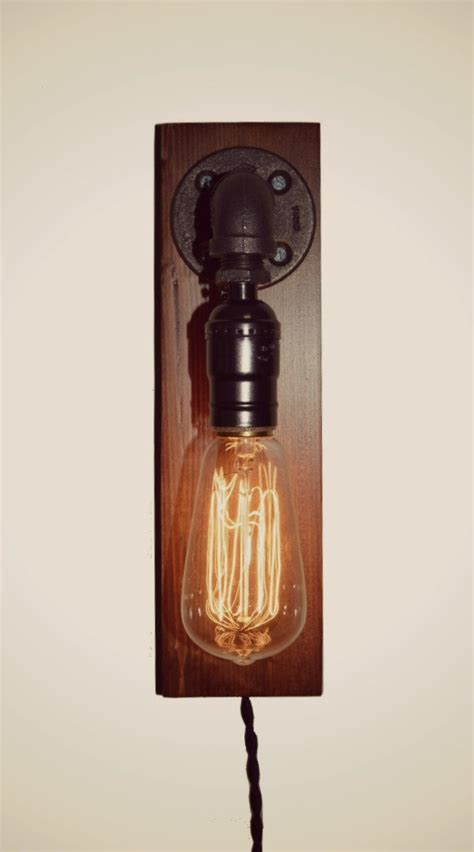 Rustic Wall Sconce Lighting Edison Farmhouse Industrial Light Wall Sconce Rustic Pipe Vintage Style Lighting