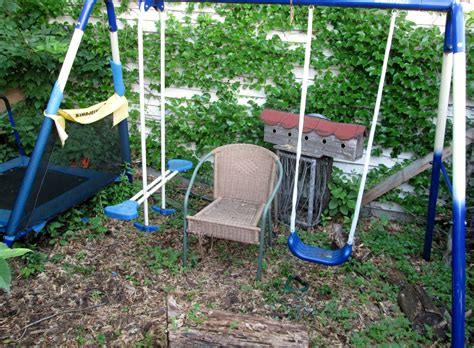old swing set small world land turn your old swing set into a play fort