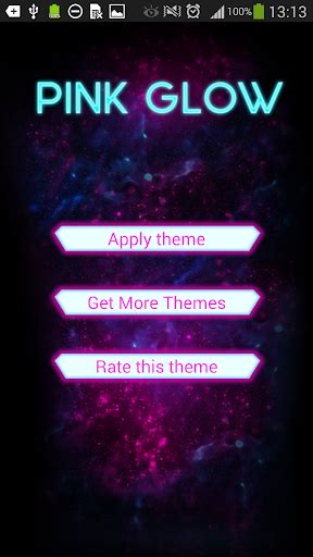go keyboard themes pink mobile9 download go keyboard pink glow theme google play softwares