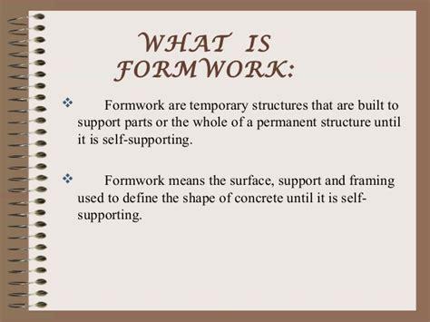 design criteria means in hindi jump formwork