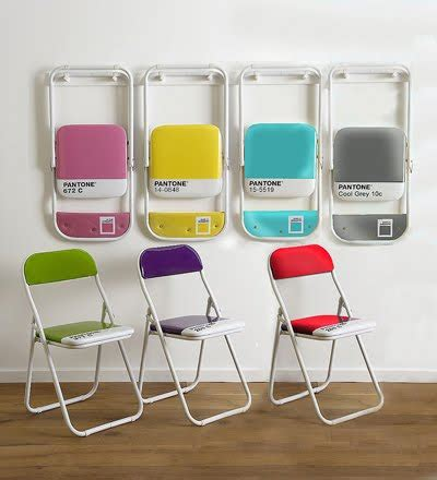 colorful folding chairs bien living design chicago interior design bien living