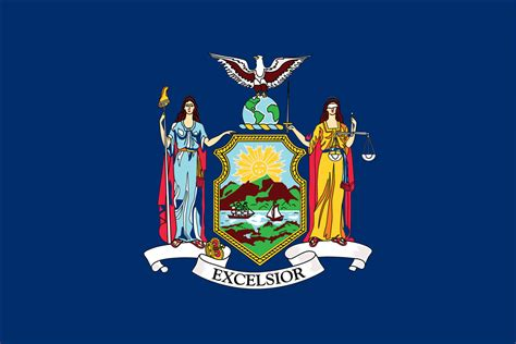 new york state colors new york state flag flagnations