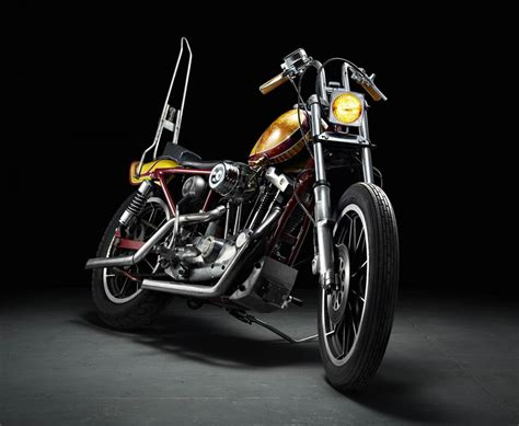 Motorrad Chopper Harley Davidson by Harley Davidson Ironhead Chopper