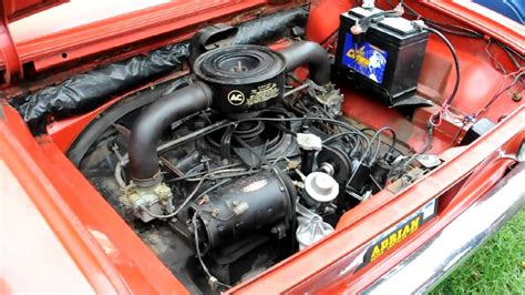 chevrolet corvair engine running