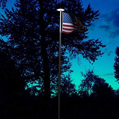 outdoor flag pole lights bright white flag pole topper led outdoor lighting
