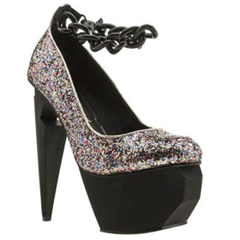 Heegheels Privileged s multi privileged twee glitter high heels schuh