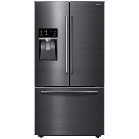 samsung maker shop samsung 28 07 cu ft door refrigerator with maker black stainless steel energy