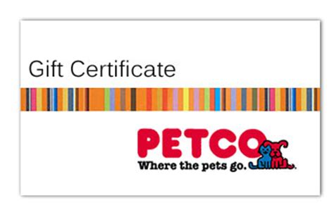 Where To Buy Petco Gift Cards - petco gift certificate