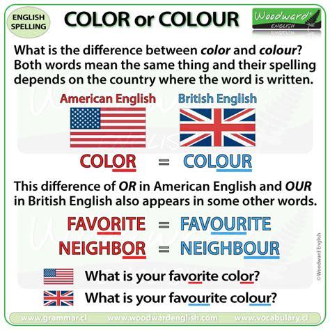 color or colour