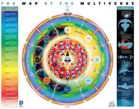 map of us in dc comics the map of the multiverse dc