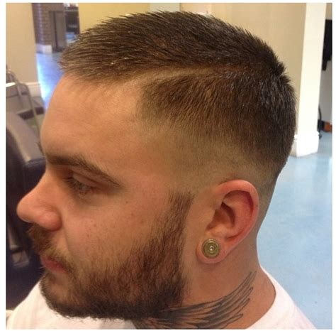 zero fade hairstyle zero fade hard part gentleman s cut the barber board