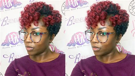 color pattern for short hair how to twa crochet curlkalon hair review youtube