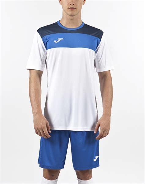 Tshirt Futbol Sala t shirt crew white royal s s joma