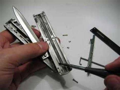 dual otf switchblade mechanism otf knife kit