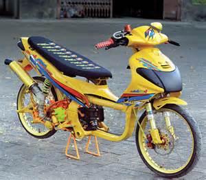 kumpulan gambar modifikasi nouvo desain thailook racing 1 modifikasimotor net