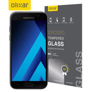 Tempered Glass For Samsung A5 2017 Ultra 2 5d olixar samsung galaxy a5 2017 tempered glass screen protector