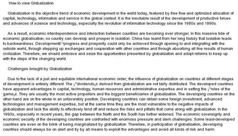 Globalisation Essay by Social 10 1 Globalization Major Essay Prep This Week S Topic How