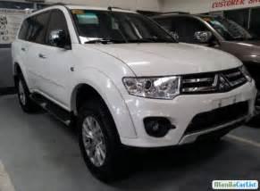 Mitsubishi Montero 2015 Mitsubishi Montero Sport Automatic 2015 For Sale