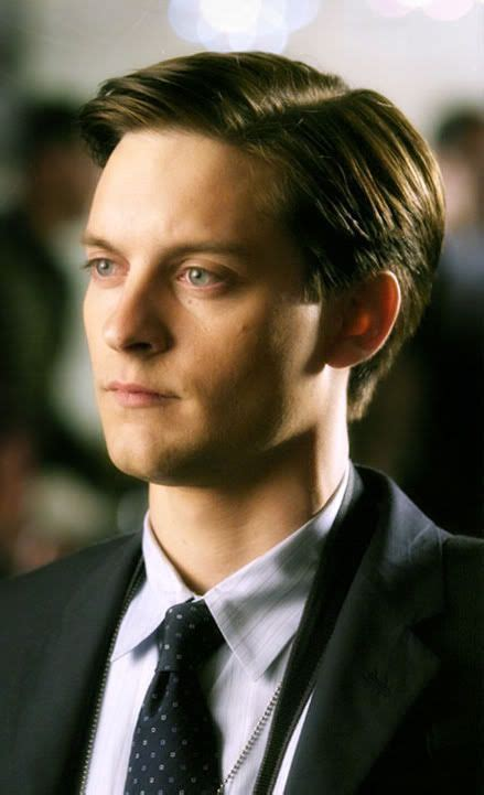 tobey maguire hair gatsby tobey maguire short hairstyle haircut pinterest
