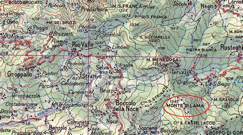 bombardamento a tappeto monte lama bombardato gruppo ricercatori aerei caduti