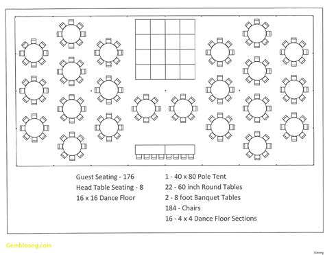 table layout for wedding reception templates new table seating chart template best templates