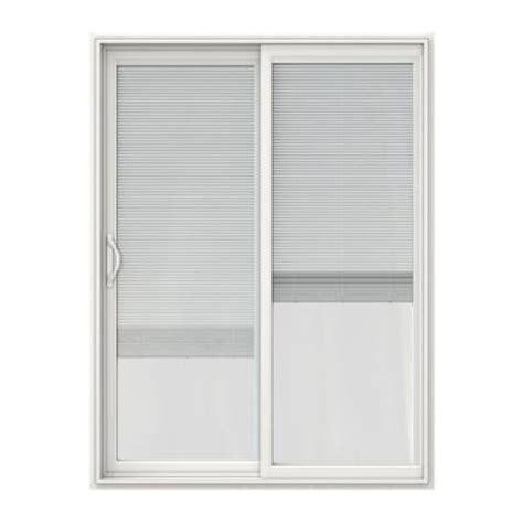 Patio Door Blinds Home Depot by V 2500 Series Vinyl Sliding Patio Door With Blinds