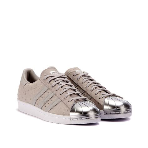 Adidas Superstar Metal by Adidas Superstar 80s W Quot Metal Toe Quot Grey S76711