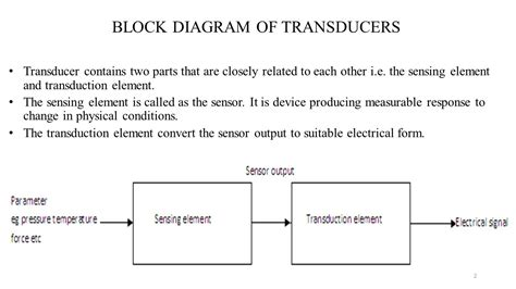 transducer block diagram repair wiring scheme