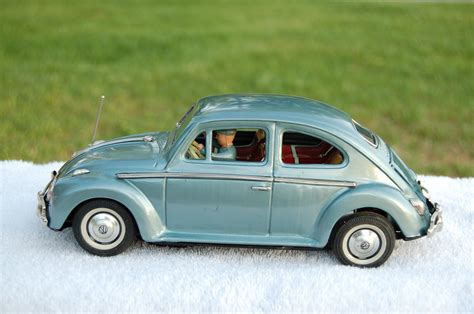 vintage volkswagen sedan vintage bump go 1965 bandai no 960 volkswagen sedan in