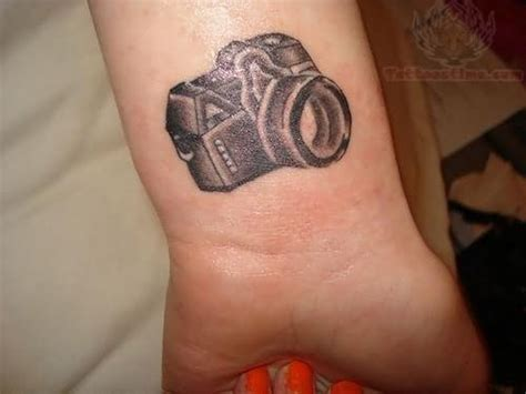camera wrist tattoo images designs