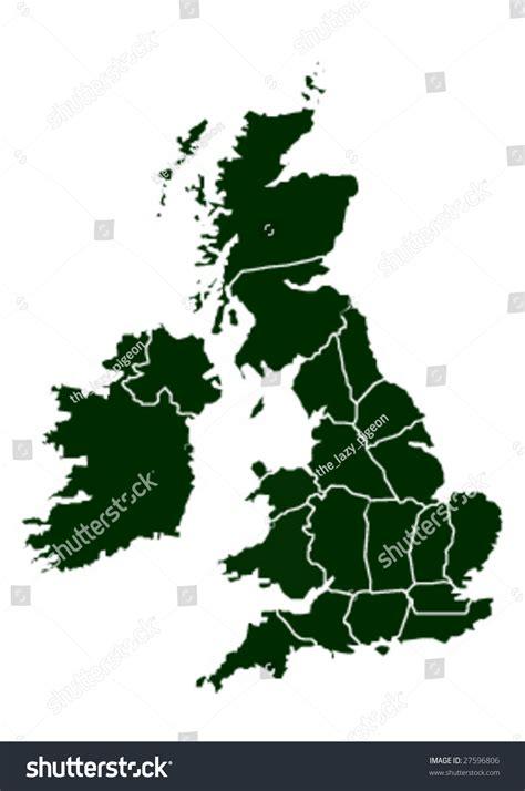 uk map vector free united kingdom vector map 27596806