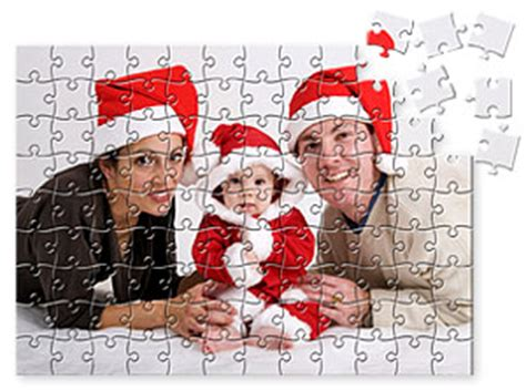 personalized custom photo puzzles made to order the christmas games from jigsaw2order com personalized