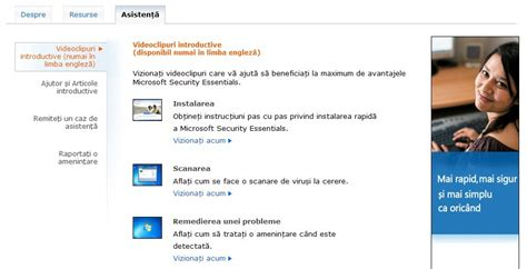Microsoft Official Website Microsoft Security Essentials Free Antivirus