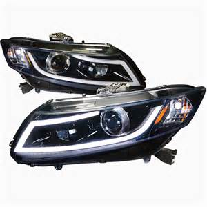 pro design black headlights for 2013 honda civic