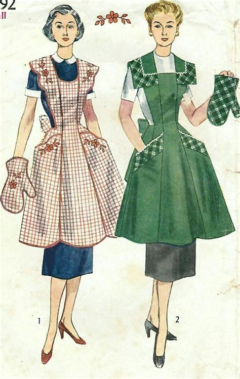 sewing pattern vintage apron 92 best images about apron pinafore on pinterest