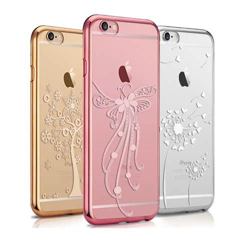 coque pour iphone 6 6s plus iphone 6 plus etui luxe d or mobile pas cher bleu