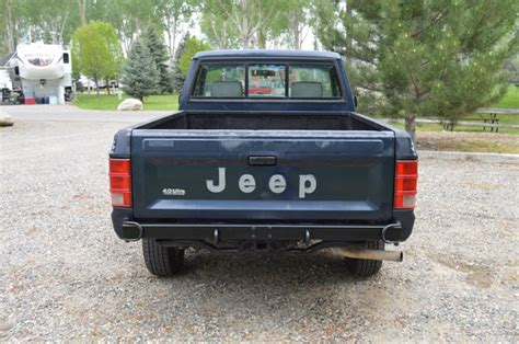 Jeep Comanche Tailgate For Sale 1991 Jeep Comanche Sport 4x4 Truck For Sale