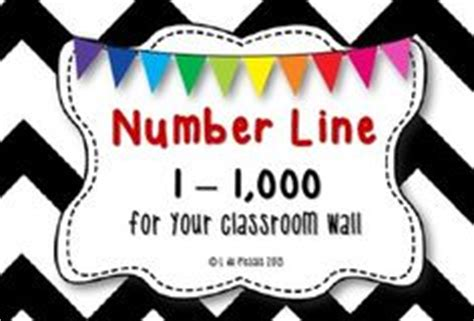 printable number line for classroom wall number line 1 to 1 000 big for your wall this is a