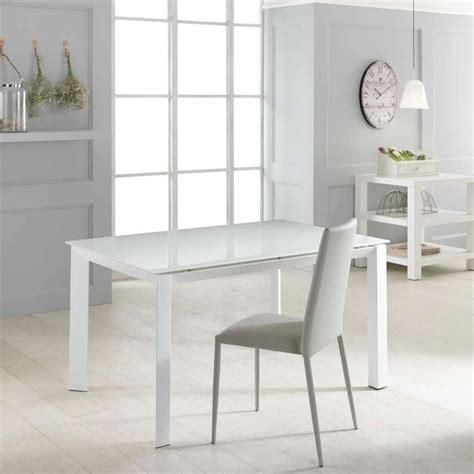 tavolo piano vetro tavolo allungabile con piano in vetro temperato vinicio